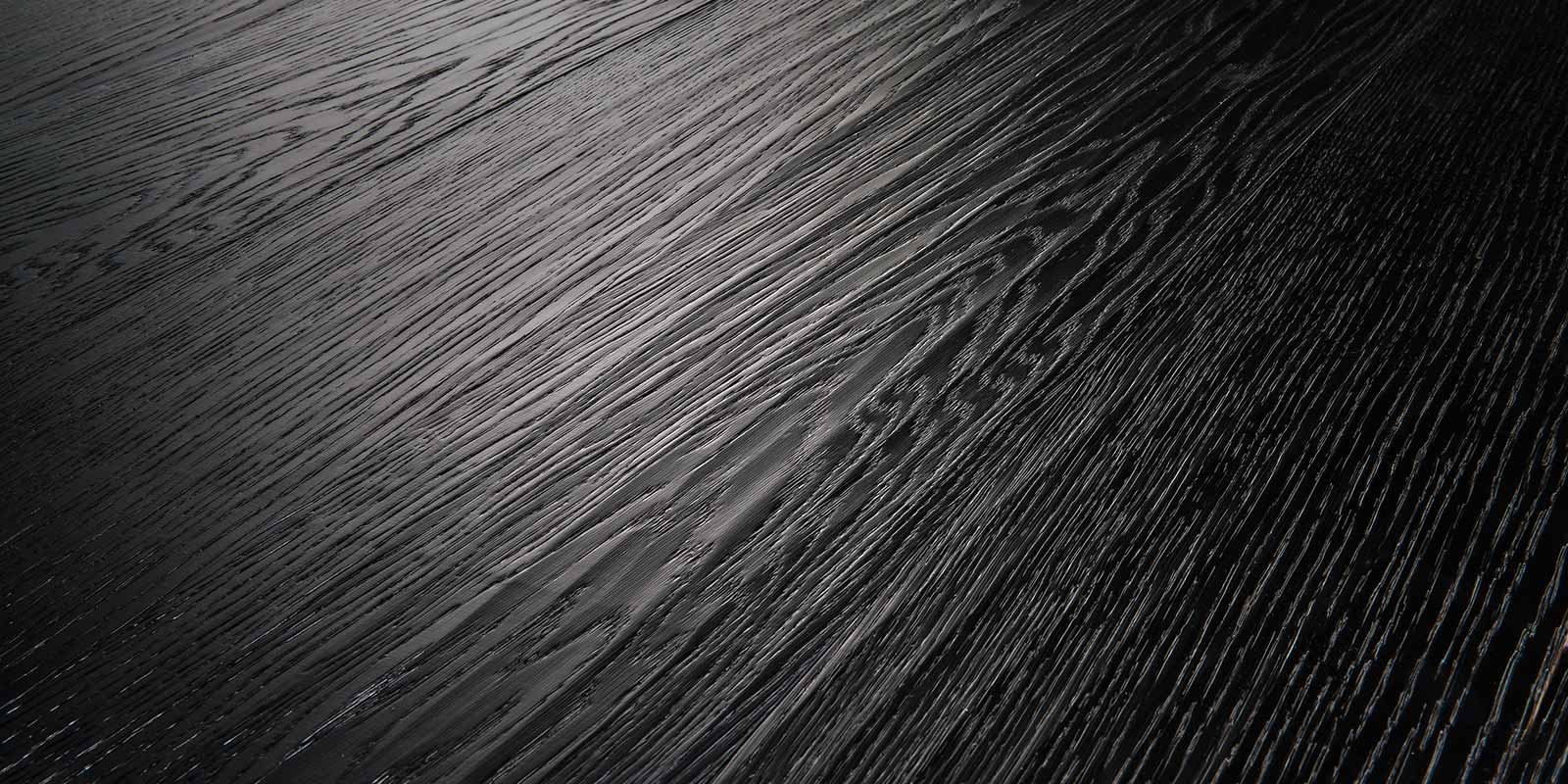 Rovere piallato color nero