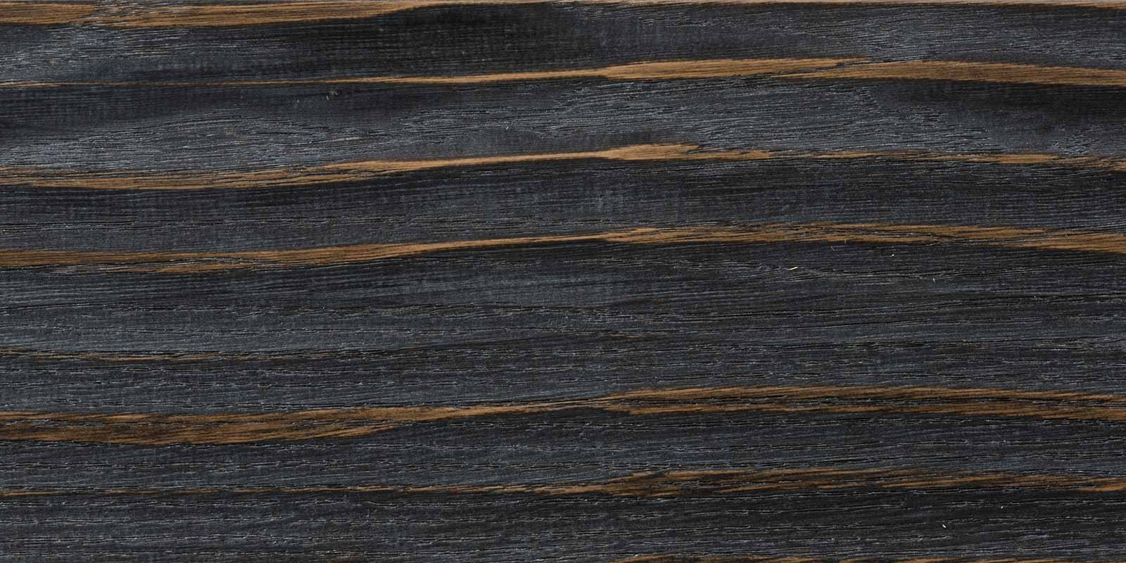 Rovere piallato DOC color nero grafite